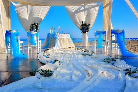 Yacht Wedding by A Wedding On A Yacht On The Island Of Santorini