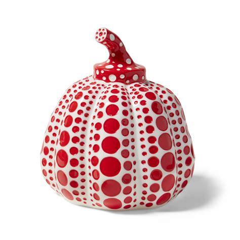 Product Find Pumpkin Sugar 2 by 草間彌生 オブジェ Pumpkin レッド レッド オフィス Moma Store モマストア