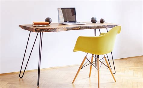 Livingroom Brooklyn make your office more eco friendly with a reclaimed wood desk