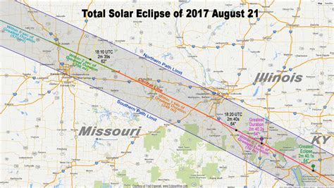 Total solar eclipse map total eclipse of sun august 21 2017 earth