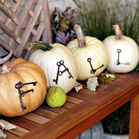 decorate pumpkins  fall ideas  paint rhinestones