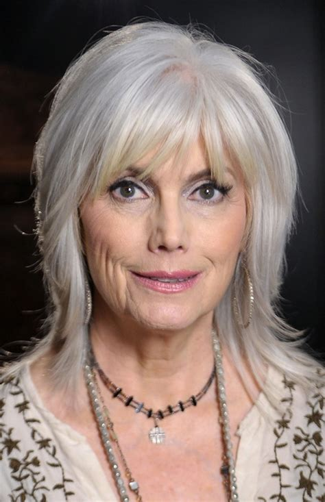 Bangs And Gray Hair | hairstyles with bangs for women over 50 trendy gray hair
