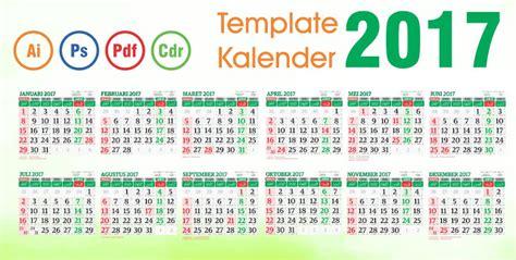Cetak Kalender Meja 2017 Satuan template kalender 2017 vector editable april 2016