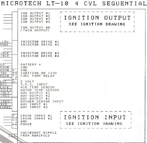microtech lt10c wiring diagram 30 wiring diagram images