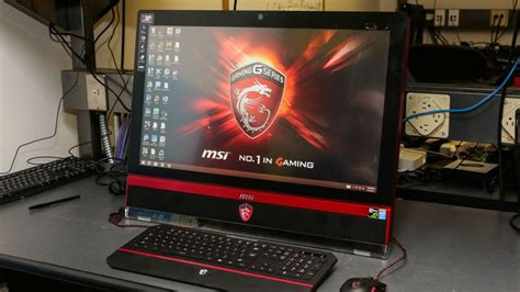 Gaming Setup Ps4 by Msi Ag270 All In One Review Cnet