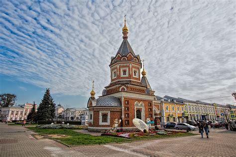 PHOTO: St. Alexander Nevsky Chapel, Yaroslavl, Russia