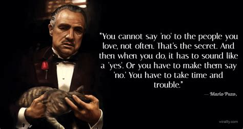 godfather quotes godfather quotes you canot say no to the you