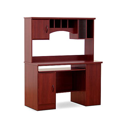 morgan computer desk with hutch south shore furniture morgan collection computer desk with