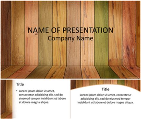 templates powerpoint wood old wood panels powerpoint template templateswise com