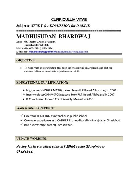 Sle Resume For Experienced Lecturer In Computer Science by Computer Science Resume Format Resume Format