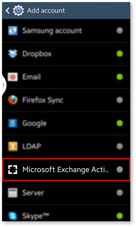 android version 4 4 4 activesync device setup guide android version 4 x atmail help centre