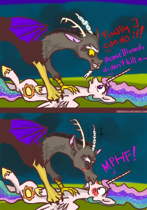 discord checking for updates mlp celestia and discord comic www pixshark com images