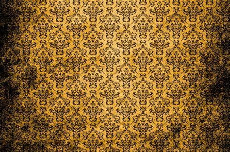 wallpaper old gold damask vintage background gold free stock photo public