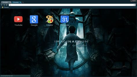 chrome night theme imaginaerum nightwish chrome theme 1600x900 by nathiss on