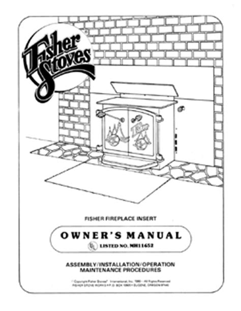 Fireplace Insert Manual by Earth Stove 1002 Manual