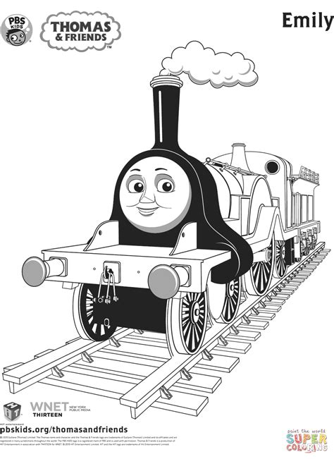 emily train coloring page emily from thomas friends coloring page free printable