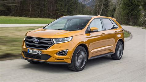 review the new ford edge top gear