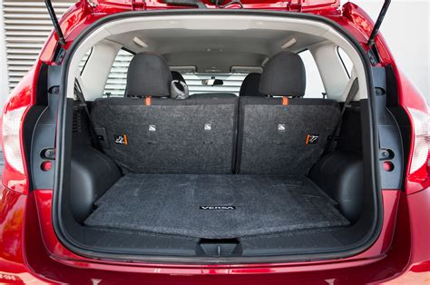 nissan note interior trunk 2015 nissan versa note sr review long term update 3