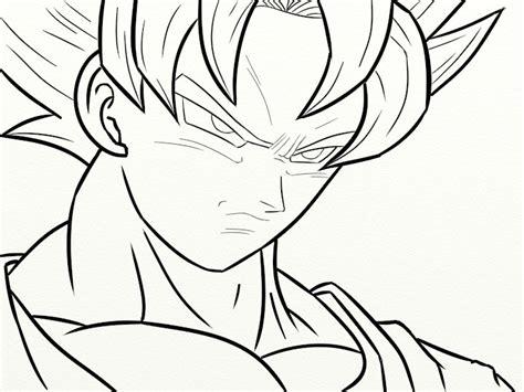 imagenes de goku normal para dibujar pz c dibujo rosa