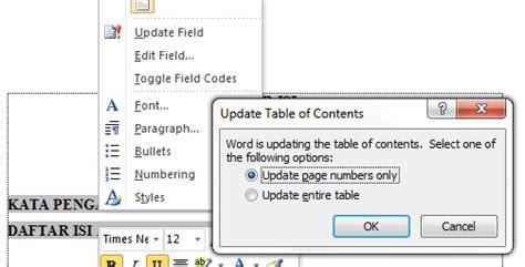 cara membuat daftar gambar otomatis pada ms word cara membuat daftar isi otomatis pada ms word angga187 s