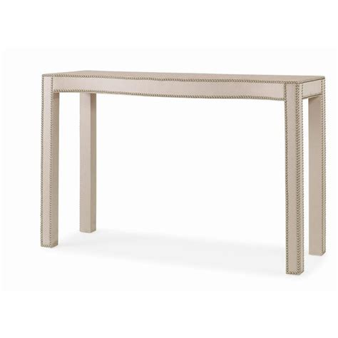 Upholstered Console Table Century 499 728u Bridgeton Fully Upholstered Console Table Discount Furniture At Hickory Park