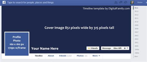 cover and profile template best photos of timeline profile template blank