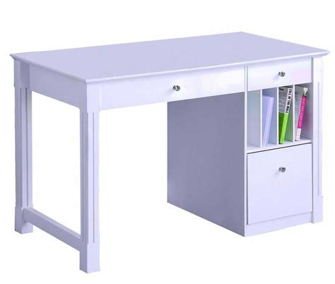 solid wood white writing desk white desks office furniture