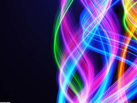 rainbow motion blur ppt template rainbow motion blur ppt