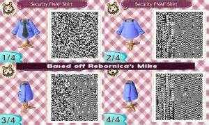 Acnl security fnaf shirt in animal crossing ar