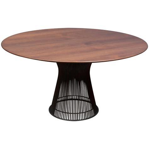 platner dining table warren platner bronze dining table for knoll for sale at 1stdibs