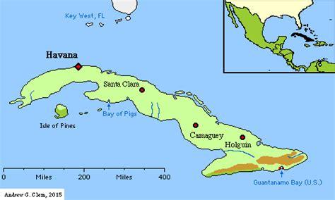 south america map cuba andrew clem cuba