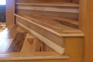 Hardwood Flooring In Basement - stair trim out 5 installing treads and risers thehardway protradecraft