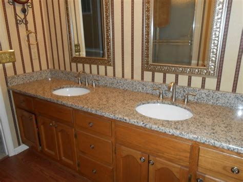 granite creme caramel kitchen and bathroom countertop color creme caramel granite traditional bathroom
