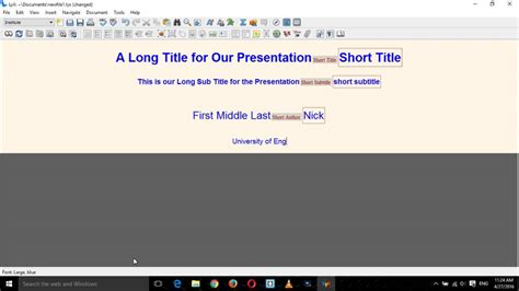youtube tutorial lyx presentation with lyx and beamer complete tutorial part 1