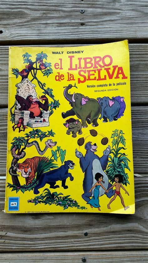 libro walt disneys the jungle 1969 el libro de la selva walt disney second edition 1969