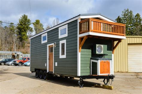 the miter box modern tiny house on wheels by shelter wise llc tiny house on wheels for sale house plan 2017