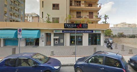 banco credito popolare siracusa rapina al credito popolare di pachino siracusa