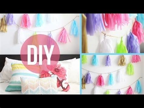 Room Decor Laurdiy Diy Room D 233 Cor Garland Poms All Things Diy
