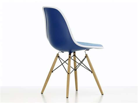 eames upholstered side chair buy the vitra upholstered dsw eames plastic side chair
