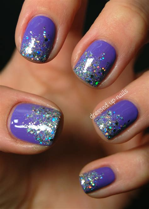 easy nail art glitter be fun and fabulous with this top 50 glitter ombre nails