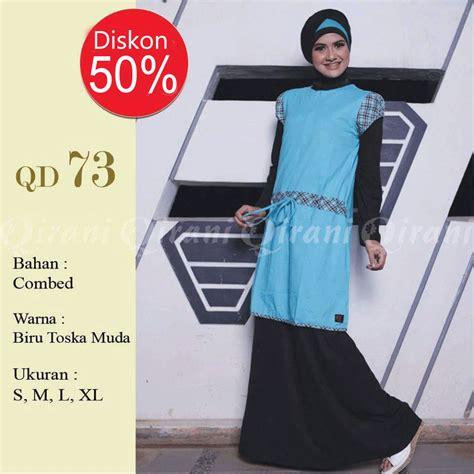 Outwear Hijau Tosca q73 hijau tosca rumah madani busana muslim