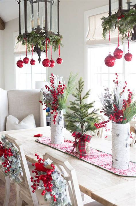 christmas table decorations to make at home 17 best ideas about red christmas decorations on pinterest