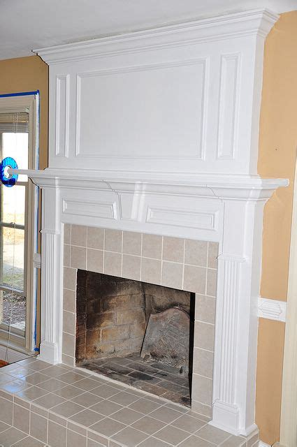 fireplace molding for the home pinterest