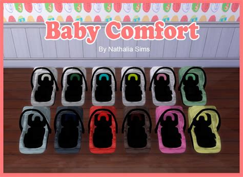 sims 4 cc baby stuff baby comfort and carriage at nathalia sims 187 sims 4 updates