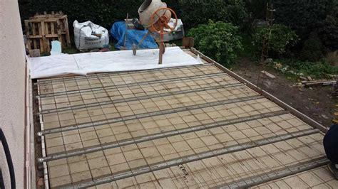 Terrasse En Ciment by Dalle Beton Terrasse Ma Terrasse