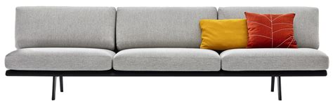 straight sectional sofas