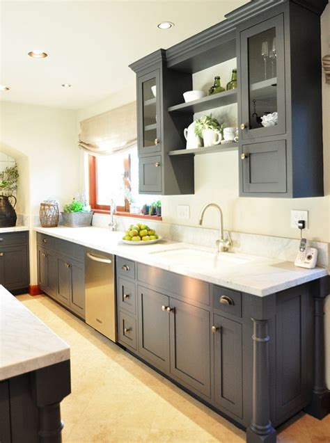 grey kitchen cabinets ideas traditional home showhouse tour centsational girl