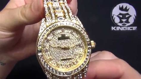 s gold cz iced out watches kingice