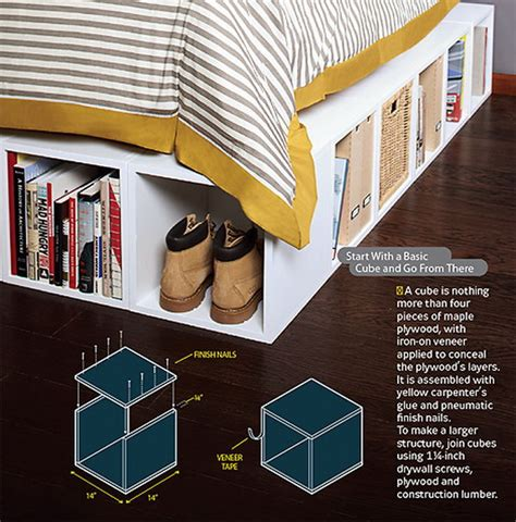 under bed storage ideas storage solutions archives noted list