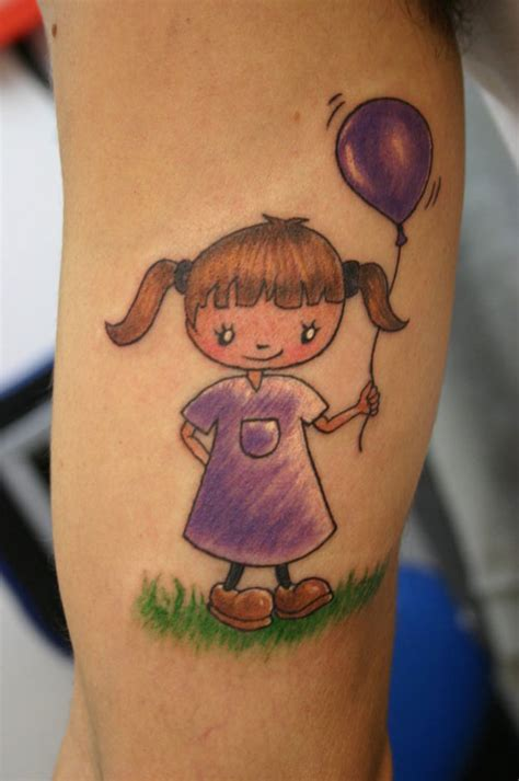 29 playful cartoon tattoos creativefan